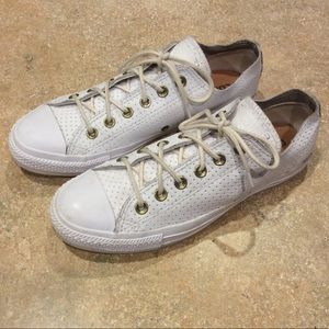 CONVERSE ALL-STAR LEATHER LOW TOPS